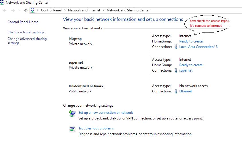 net Wi-Fi hotspot on windows 10